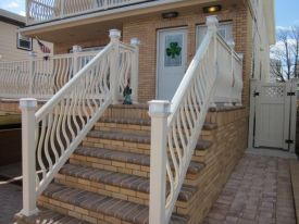 Pvc Railing System Installations By Schiano Fence