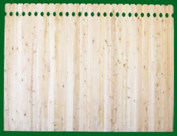 390 Solid Wood Fence Panels
